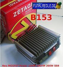 Zetagi B 153N MOSFET POWER 10m AM/FM/SSB Endstufe 100/200W neu, ovp. 29Cent/W !