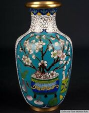 China 20. Jh. -A Small Chinese Ovoid Cloisonne Enamel Vase - Vaso Cinese Chinois