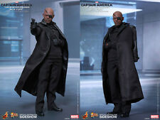 Hot Toys Captain America The Winter Soldier Nick Fury 1/6 Scale Figure In Stock