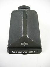 Mamiya Prism Finder all Mamiya RB67 & RZ67 Cameras ugly looking but works