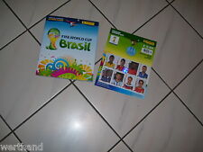 PANINI FIFA World Cup 2014 Brasil Sticker Album komplett + Update + coca cola