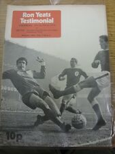13/05/1974 Liverpool v Celtic [Ron Yeats Testimonial] (Slight creased). Item app