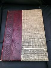1941 DOANE TIGER COLLEGE YEARBOOK CRETE, NEBRASKA
