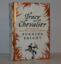 Signed Tracy Chevalier Burning Bright 2007 1/1 (Author: Girl With Pearl Earring)