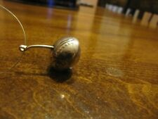 HAND MADE STERLING SILVER STANDING LIBERTY 25C ACORN CHARM/ PENDANT 3D 8 gram