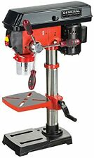 10 inch 5 speed 3 amp Bench Mount Drill Press with laser system and LED light