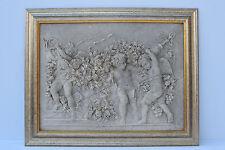 Marble Plaque With Bronze Medallion Set In The Back Francois Duquesnoy Paris1892