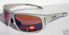 BOLLE Rainier Sunglasses Holographic Silver/NXT Rose Blue AF NEW 11551 Alpine