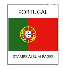 PORTUGAL STAMPS ALBUM PAGES 1853-2010 - PDF FILE (559 PAGES ILUSTRATED COLOR)