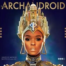 The ArchAndroid by Janelle Monae (CD, May-2010, Bad Boy/Wondaland)
