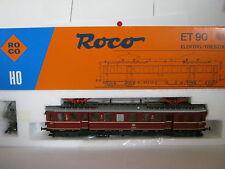 Roco HO 04185 A E-Lok BtrNr ET 90 02 DB rot (RG/BB/72S1)-1