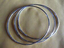 3 Rings Bracelet /Steling