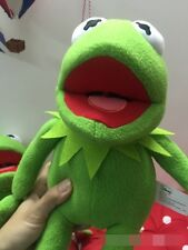 "Disney Original Kermit Sesame Street Muppets Kermit the Frog Toy Plush 14"" Gift"