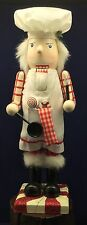 Chef Baker Nutcracker Peppermint Candy Kitchen Sweets Christmas Culinary 15""