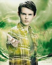 Young Robbie Kay w/COA signed 8x10 autograph photo HEROES REBORN TV star