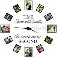 Time Spent With Family Is Worth Every Second Art Quote Wall Stickers Decals Home