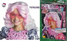 Monster High VIPERINE GORGON w/ Headpiece Snake Dress Up CHILD WIG Costume Hair
