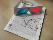 3D Drawing Pad with 3D Cardboard Viewing Glasses