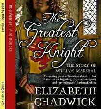 THE GREATEST KNIGHT by ELIZABETH CHADWICK 5 CD'S AUDIO BOOK
