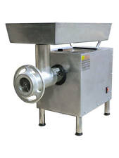 OMCAN MG-BR-0022 #22 Head 2.0 HP Stainless Commercial Electric Meat Grinder NEW!