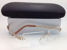KAZUO KAWASAKI Titanium Eyeglasses MP 704 11 SP/51 Rimless Gold Frame w/ Clear