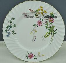 "Delightful Minton England ""Dainty Sprays"" Bone China Dinner Plate 10 5/8"""
