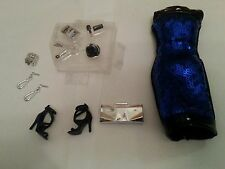 2015 The Look NIGHT OUT Outfit Fashion Accessory dress purse BARBIE Accessories