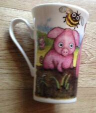 ROY KIRKHAM PIGGY IN THE MIDDLE Fine Bone China Mug / Beaker