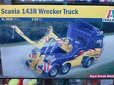 ITALERI 1/24 - KIT CAMION  SCANIA 143R WRECKER TRUCK  - ART. 3838