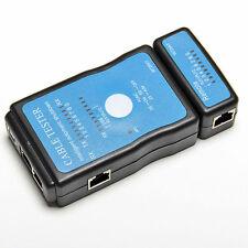 New Multi-Modular RJ-45 RJ11 Network LAN USB Wire Cable Line Tester Checker JB