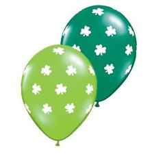 "S. Patrizio BIG shamrocks 11 ""Qualatex Lattice Palloncini X 5"