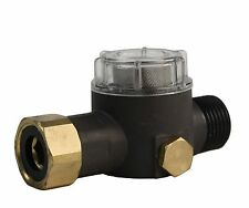 Erie Tools® Aluminum Water Inlet Filter with Stainless Screen for Pressure Pumps