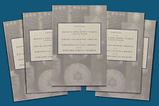 5 Copies of Book on Antique Jewish Ceremonial Silver - Tumen Collection