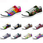 Lightweight Casual Sneakers Low Top Canvas Shoes for Women Men Walking Trainers