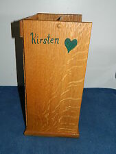 Handmade Wood Doll Armoire Closet Wardrobe for American Girl Kirsten