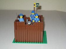 Lego Custom WESTERN AMERICAN CIVIL WAR UNION FORT w/ 3 Soldiers Minifigs