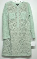 Victoria Beckham for Target Womens Mint Green Lace Mini Dress Size XL NWT