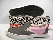 VANS CLASSIC SLIP-ON LOW MEN SHOES DARK GULL GREY/BETTY 4783976 SIZE 8.5 NEW