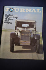 1979 BMW Journal Magazine - The First Half Century: it began with the Dixi