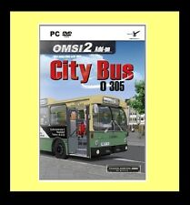 OMSI City Bus 0305 Add-on for OMSI 1 or 2 (PC DVD) PC 100% Brand New