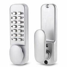 Beisen - Keyless Mechanical Digital Push Button Door Lock Zinc Alloy Home Entry