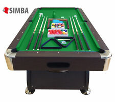 8 Ft Pool Table Billiard Playing Cloth Indoor Sports Game billiards table new