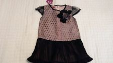 Beetlejuice  Baby Dress Short Sleeve Lace  NEW  Size 3T---PRICE REDUCED