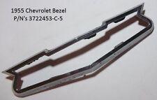 1955 Chevrolet Ornament Bezel P/N's 3722453-C-5 Original O.E.M. Made In USA