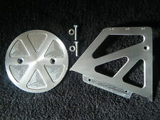 CNC ALUMINIUM ENGINE PULLEY COVER 29T AND PULLEY CASING BUELL X1 LIGHTNING