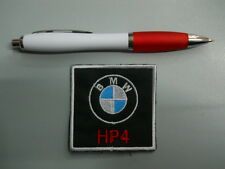 PATCH PIÈCE BMW MOTORRAD HP4 broderie bordé thermo-collant 6x6