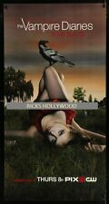 """Original VAMPIRE DIARIES Rare 26"""" x 50"""" Phone Booth TV Television Poster ROLLED"""
