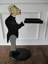 James The Butler Table Bombay Company Retired 1990's