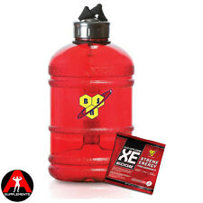 BSN Bottle Gallon Water Jug 1.8ltrs + FREE No Xplode XE Edge Pre Workout Sample