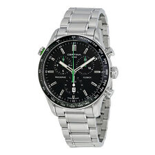 Certina DS-2 Flyback Chronograph Black Dial Mens Watch C0246181105102